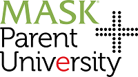 MASK+Parent University Logo vs